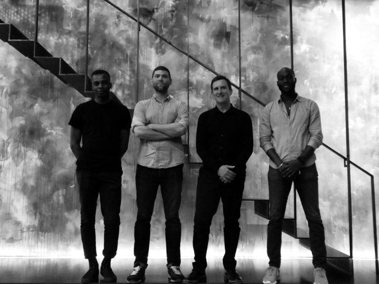 Nile Bridgeman, Josh Artus, Jonathan Goldstein and Samson Famusan